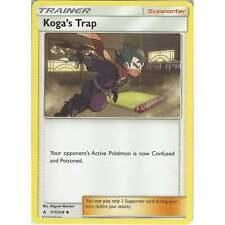 Koga's Trap 177/214 - Uncommon - Trainer Card - Pokemon TCG Unbroken Bonds Cards