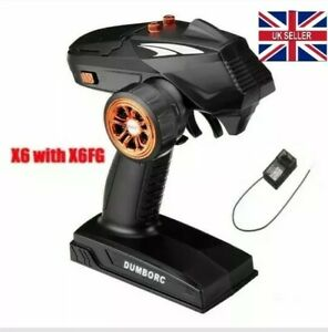 DUMBO RC X6 Transmitter X6FG Receiver Gyro Car Plane Boat Arrma Traxxas UK Stock