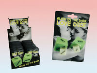 Adult Love Dice Game - Glow in the Dark Dice Set of 2