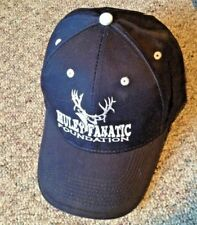 Hunting Baseball Cap Dark Blue Muley Fanatic Foundation Mule Deer Embroidered