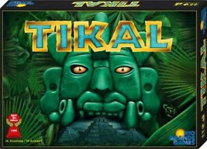 Tikal Board Game  find lost temples, treasures in Central American jungles ENG/D