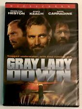 GRAY LADY DOWN ~ DVD ~Charlton Heston, Stacy Keach NEW/SEALED, FAST/FREE SHIP!