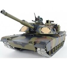 2.4Ghz 1/16 US M1A2 Abrams RC Tank Upgrade Super Metal w/Smoke & Sound RTR Camo