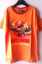 "Tee-shirt ""SKYLANDERS"" Orange - 10/12 Ans - Neuf"