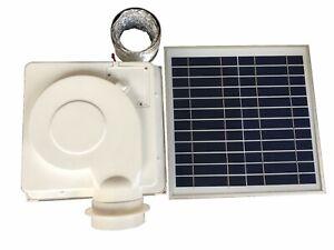 Solar Integrated Ceiling Exhaust Fan DC Motor Ventilator for Bathroom Kitchen