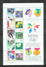JAPAN NAGANO OLYMPIC SHEET #2607