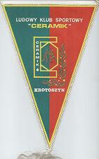 Orig.Wimpel    Ringen   LKS CERAMIK KROTOSZYN (Polen) - 80ziger Jahre  !!  TOP