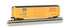 Bachmann N Scale 19455 Union Pacific 50' Box Car W/ Metal Wheels NEW