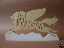 Pegasus Flying Horse Wood Puzzle Amish Made Scroll Saw Toy New