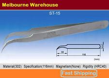 VETUS Original Genuine High Quality Stainless Steel Switzerland Tweezers ST-15