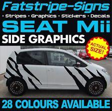 SEAT Mii GRAPHICS TIGER STRIPES STICKERS DECALS 1.0 SPORT VINYL CITY CAR