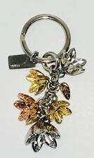 NWT Coach Wild-Flower TriColor Multi Keychain Key Ring F29813
