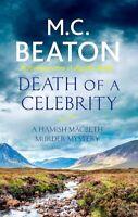 Death of a Celebrity (Hamish Macbeth), Beaton, M.C., Very Good condition, Book