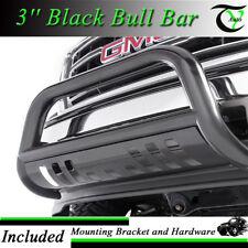 New 3'' Inch Black Bull Bar Fits 2007-2013 Chevy Silverado 1500 LD Push Bumper