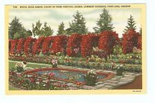 Linen PC,Royal Rose Arbor,Court,Rose Festival Queen,Lambert Gardens,Portland,Ore