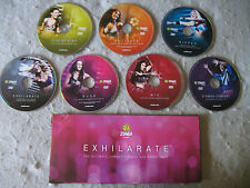 Zumba Exhilarate 7 DVDs Ultimate Zumba Fitness Experience Lot Exercise Fitness