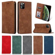 For Samsung Note10 A20E Xiaomi Redmi K20 Pro Flip Leather Card Stand Case Cover