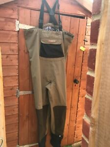 Greys Strata, stocking foot breathable chest waders, Size: Xl