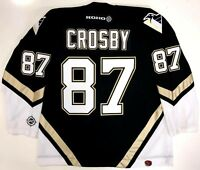 SIDNEY CROSBY PITTSBURGH PENGUINS ROOKIE STYLE KOHO REPLICA JERSEY XL
