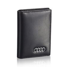Audi Business Card Holder for Men Credit ID Case for Women - Genuine Leather