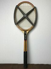 ANCIENNE RAQUETTE  TENNIS 1950 BOIS COUPE KRAMER MADE IN FRANCE SYDNEY R.HAILLET