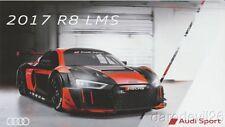 2017 Audi Sport R8 LMS IMSA WTSC postcard