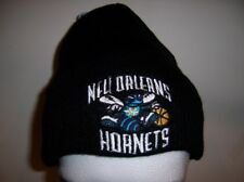 NBA NEW ORLEANS HORNETS WINTER HAT CAP BASKETBALL BLACK
