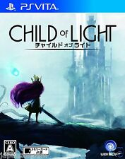 CHILD OF LIGHT UBISOFT  PS Vita SONY JAPANESE NEW JAPANZON