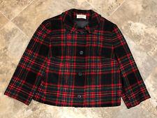 New listing Vintage Ladies Pendleton Wool Size 14 Plad Jacket