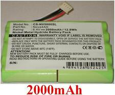Batterie 2000mAh type Nova4AH Pour Nova 5000