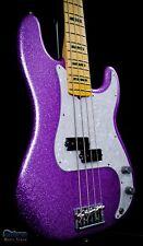 Fender Limited Edition Adam Clayton Signature P Bass 2017 Purple Sparkle