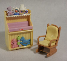 Fisher Price Loving Family Dream Dollhouse Baby Changing Table Lights Sound
