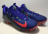 Nike Mens Size 11.5 Lunar Vapor Ultrafly Elite Baseball Cleats Metal Multicolor