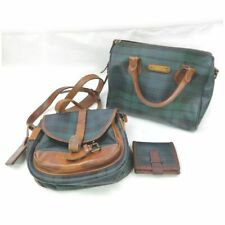 Polo Ralph Lauren PVC Shoulder Bag Wallet Hand Bag 3 pieces set 516685