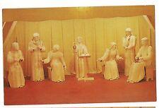 JESUS AMAZES TEACHERS TEMPLE Museum of WOOD CARVING Spooner Wisconsin Postcard