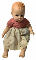 Vintage Gerber Baby Doll 1979 50th Anniversary Atlanta Novelty Red White Gingham