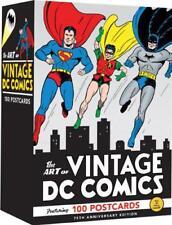The Art of Vintage DC Comics por Tarjeta Book Libro 9780811876506 NUEVO