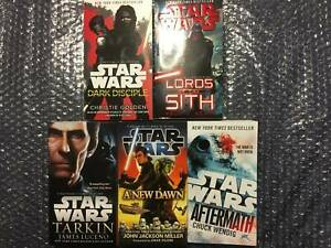 6x Star Wars Books