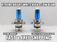 Xtreme Bright White Headlight Bulb For Toyota T100 1993-1998 High & Low Set of 2