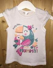 m&co baby girl Top Size 6-9 Months Brand New
