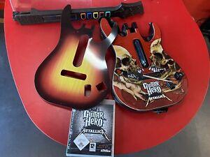 Guitar Hero édition Metallic - jeu + guitare - PS3