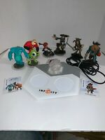 Disney Infinity Game Base, Pirates, Incredible, Monsters Inc.