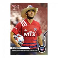 2021 TOPPS NOW MLS Ricardo Pepi FC Dallas #86