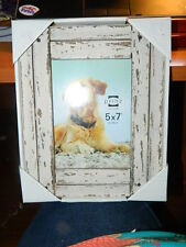 5x7 distressed white wood planks photo picture frame new prinz beach nautical - Nautical Picture Frame