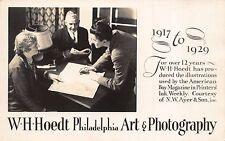 RP Postcard W. H. Hoedt Art & Photography Philadelphia, Pennsylvania~110662