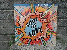Bob Dylan - Shot of Love - original CBS vinyl record LP -  1981 press