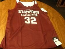 Stanford cardinals nike reversible womens M basketball jersey nwt team issued