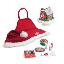 NIB ~American Girl Sugar & Spice Baking Set~ Christmas Gingerbread House Holiday