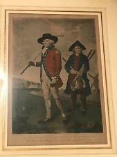 Antique Mezzotint After  LEMUEL FRANCIS ABBOTT BLACKHEATH GOLFERS