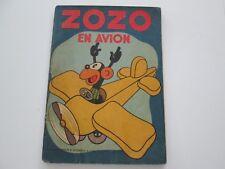 ZOZO EN AVION EO1937 BE/TBE EDITION ORIGINALE